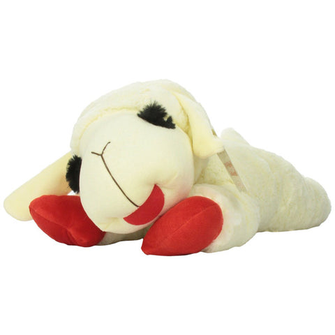 MULTIPET - Officially Licensed Lamb Chop Jumbo White Plush Dog Toy