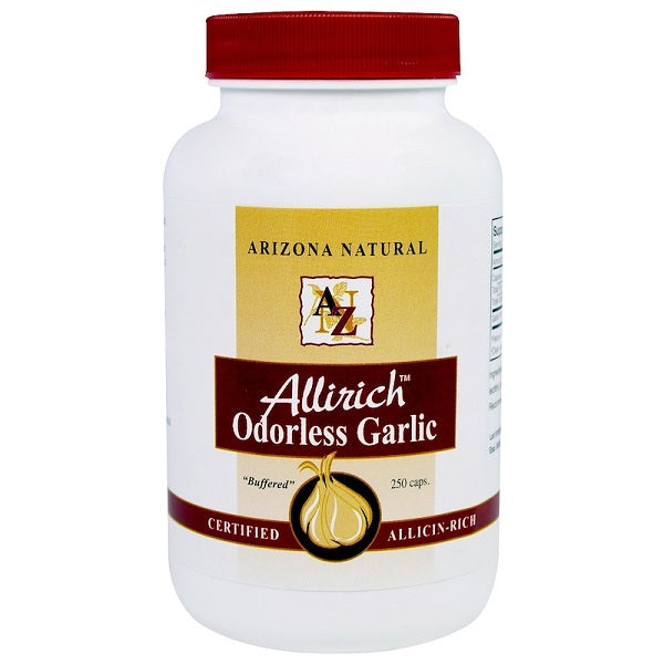 Arizona Natural Allirich Odorless Garlic