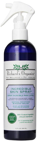 SYNERGY - Richard's Organics Incredible Skin Spray for Dogs