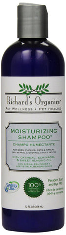 SYNERGY - Moisturizing Shampoo with Oatmeal, Echinacea & Sweet Almond Oil
