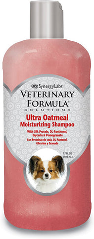 SYNERGY - Veterinary Formula Ultra Oatmeal Moisturizing Shampoo
