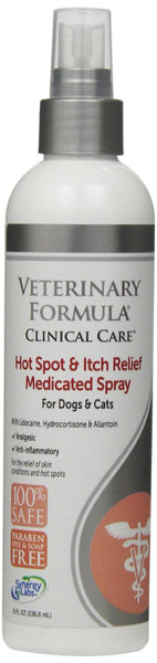 SYNERGY - Hot Spot & Itch Relief Medicated Spray for Dogs & Cats
