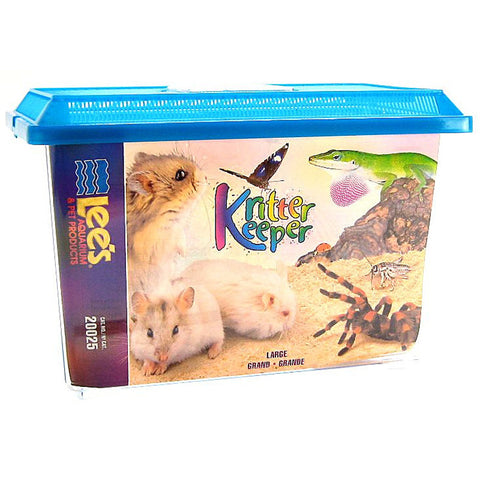 Lee's Pet Products - Kritter Keeper Rectangle - Large