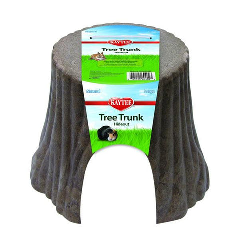 CRITTERTRAIL - Natural Tree Trunk Hideou Large