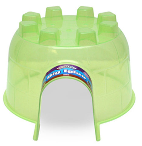 Super Pet - Large Igloo Hide-Out - 10.5 x 12 x 6.25 Inch