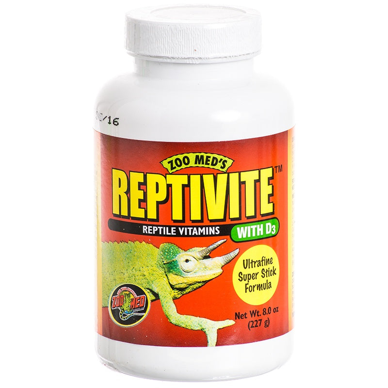 Zoo Med Laboratories - ReptiVite with D3 - 8 fl. oz.