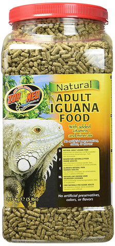 Zoo Med Laboratories - Natural Iguana Food Adult Formula - 5 Lbs.