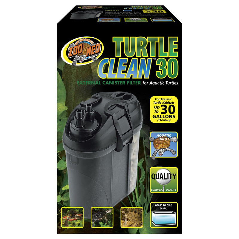 Zoo Med Laboratories - Turtle Clean 30 External Canister Filter - Up To 30 Gallons