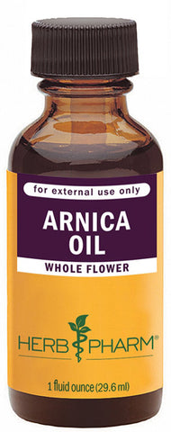 HERB PHARM - Certified Organic Arnica Oil