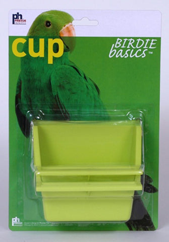 PREVUE PET PRODUCTS - Prevue Birdy Basics High Back Plastic Cup
