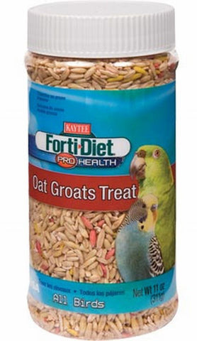 KAYTEE - Forti-Diet Pro Health Oat Groats Treat for All Birds