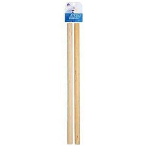 PREVUE PET PRODUCTS - Birdie Basics Wood Perch 3/4 Inches X 17 Inches