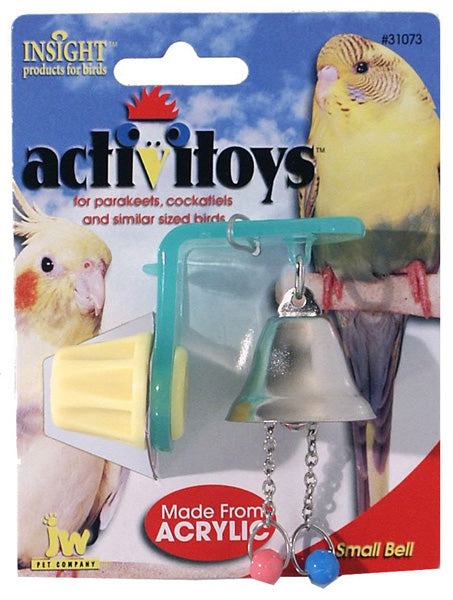 JW PET Insight Activitoy Small Bell Bird Toy