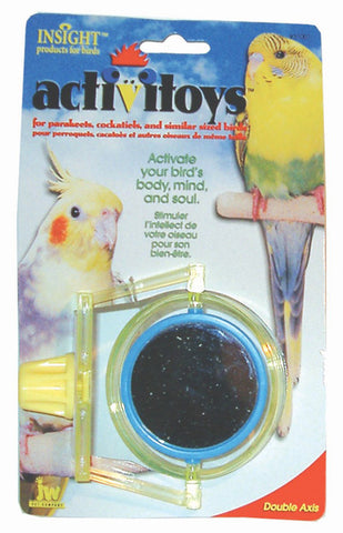 JW PET Insight Activitoy Double Axis Bird Toy