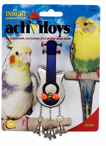 JW PET Insight Activitoy Guitar Bird Toy