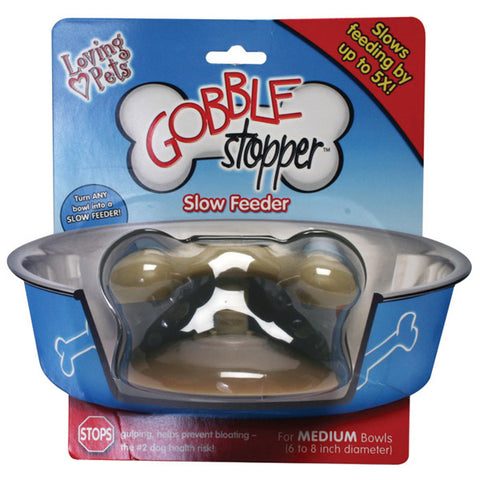 LOVING PETS - GobbleStopper Slow Feeder - Medium