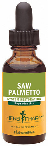 HERB PHARM - Saw Palmetto Berry Extract for Prostate Support