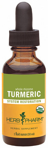 HERB PHARM Turmeric Root Extract for Musculoskeletal System Support