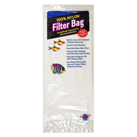 BLUE RIBBON - Nylon Filter Bag for Aquarium, Large