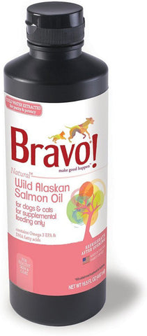 BRAVO - Wild Alaskan Salmon Oil for Dogs & Cats