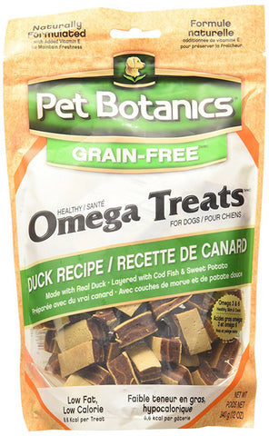 PET BOTANICS - Healthy Omega Duck Treats for Dogs