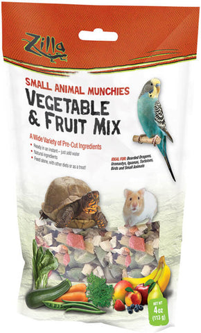 ZILLA - Reptile Munchies Vegetable and Fruit Mix