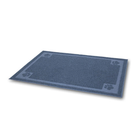 PETMATE - Litter Catcher Mat Ice Blue Large