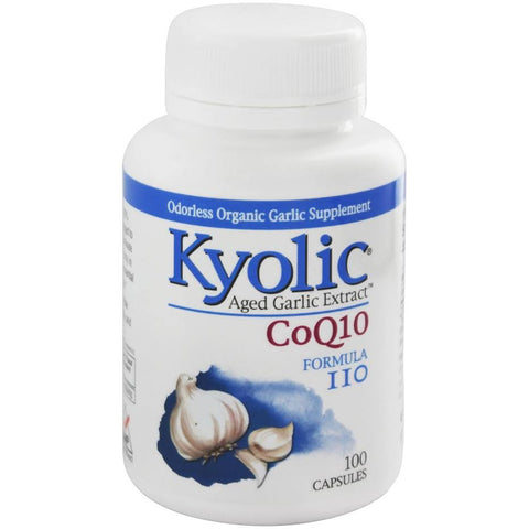 Kyolic Aged Garlic Extract with CoQ10 Formula 110