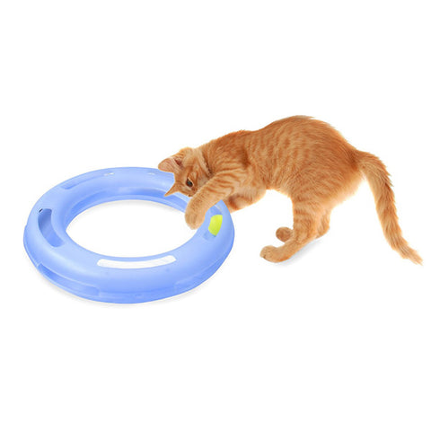 PETMATE - Crazy Circle Interactive Cat Toy Small