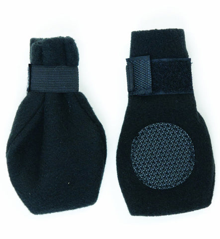 FASHION PET - Arctic Boots for Dogs, Black, Large