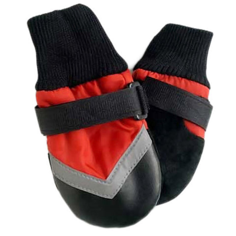 FASHION PET - Extreme All Weather Boots for Dogs Medium Red
