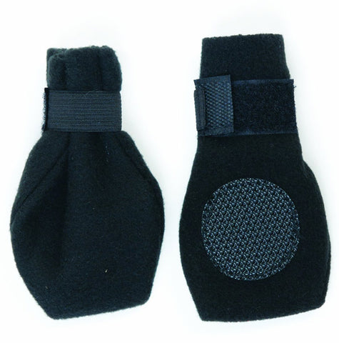 FASHION PET - Arctic Fleece Dog Boots Black X-Large