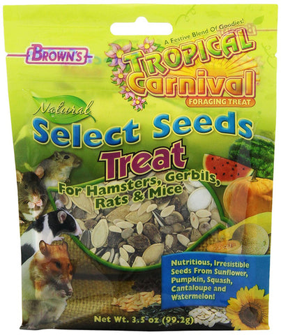 BROWN'S - Tropical Carnival Natural Select Seeds Treat