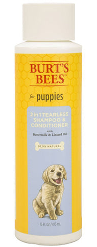 BURT'S BEES - Puppy Tearless 2 in 1 Shampoo & Conditioner