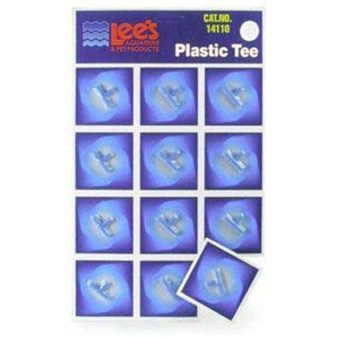 LEE'S - Card Plastic Tee for Aquarium Pumps