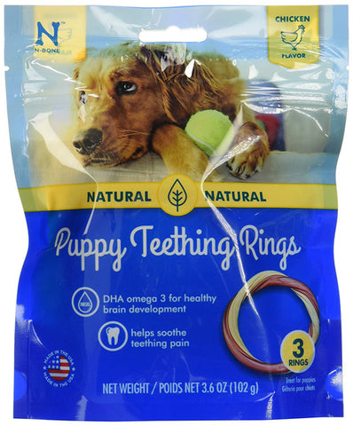 N-BONE - Puppy Teething Ring Chicken Flavor