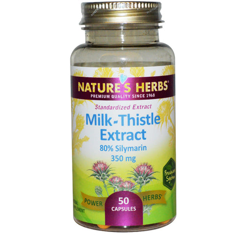 Natures Herbs Milk Thistle Extract