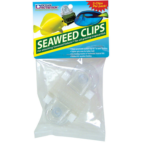OCEAN NUTRITION - Feeding Frenzy Seaweed Clip for Fishes