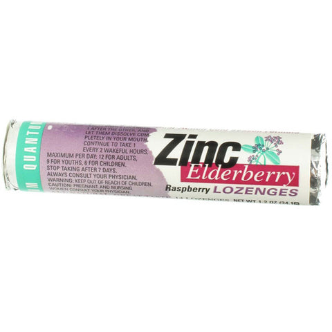 Quantum Research Raspberry Zinc Elderberry Lozenges