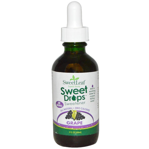 SWEET LEAF - Sweet Drops Liquid Stevia Grape