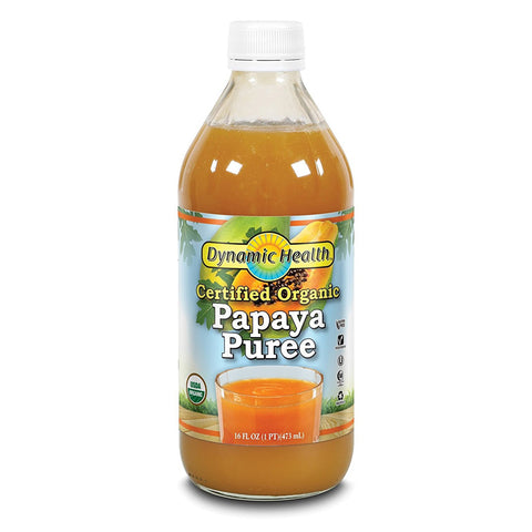 DYNAMIC HEALTH - Certified Organic Papaya Puree