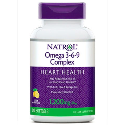 Natrol Omega 3 Fish Oil 1200 mg