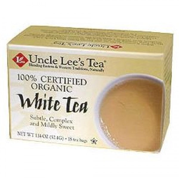UNCLE LEE'S TEA - Organic White Tea