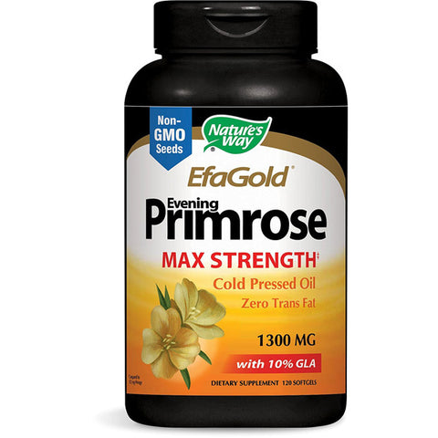 NATURES WAY - EfaGold Evening Primrose 1300 mg