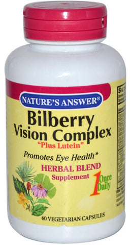 Natures Answer Bilberry Vision Complex