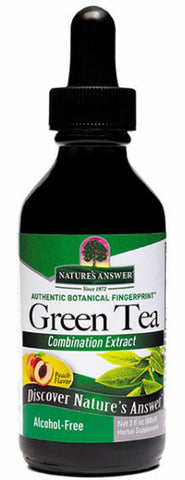Natures Answer Super Green Tea with Peach Flavor