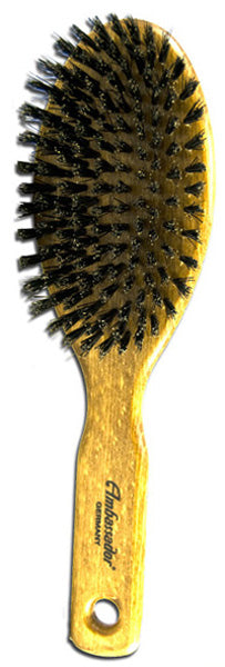 Fuchs Brushes Oval Veined Wood Boar Bristle