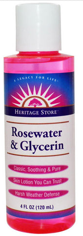 Heritage Products Flower Water Rosewater Glycerin