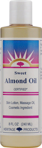 Heritage Products Sweet Almond Oil