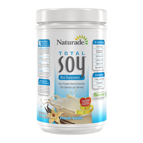 NATURADE - Total Soy All Natural Powder, French Vanilla